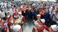 1'inci Uluslararası Yörük Festivali, Yörük göçüyle başladı
