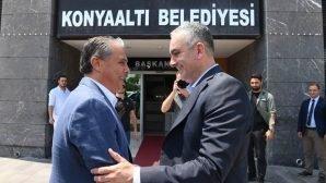 Başkan Esen, Uysal'ı makamında ağırladı