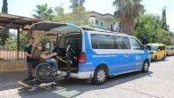 Büyükşehir'in engellilere ulaşım desteği sürüyor