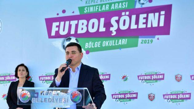 Kepez'den Futbol Şöleni