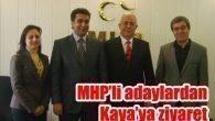 MHP'li adaylardan Kaya'ya ziyaret