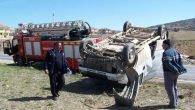 Korkuteli'de trafik kazası: 2 yaralı