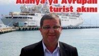 Alanya'ya Avrupalı turist akını