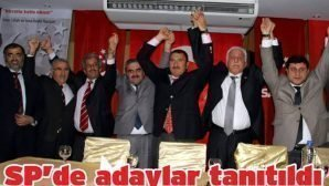 SP'de adaylar tanıtıldı