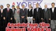 Anadolu'nun tüm ürünleri YÖREX'te
