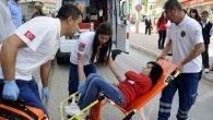 Asansör boşluğuna düşerek yaralandı