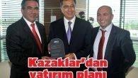 Kazaklar'dan yatırım planı