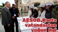 AESOB Karta vatandaştan yoğun ilgi