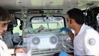 Helikopter ambulans iş başında
