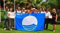 Mavi bayrak töreni yapıldı