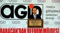 Babacan'dan reform müjdesi