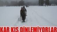 Heyelan ve kar yolları kapatıyor İl Özel İdaresi açıyor