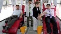 'Kan alma otobüsümüz yok'