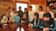 Başkan Sözen'in küçük konukları