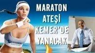 Maraton Ateşi Karayollarına Takıldı