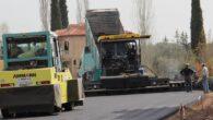 Karaman ve Evdirhan'a sıcak asfalt