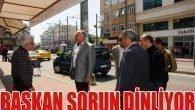 Başkan Sevimçok, İsmetpaşa Caddesi Esnafı ile Buluştu