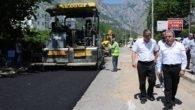 Konyaaltı  asfalt sezonunu açtı