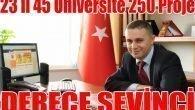 Üniversitede Derece Sevinci