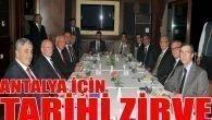 Ankara'da tarihi buluşma