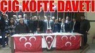 """""""MHP Üyeleri çiğköfte etkinliğinde buluşuyor"""""""