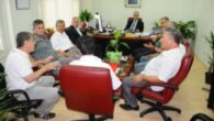 Başkanlardan Bölge Müdürü'ne Ziyaret