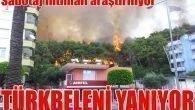 Türkbeleni yanıyor