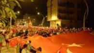 Herford Caddesi Zafer kutlamalarıyla açıldı
