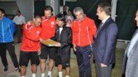 Kök'den Antalyaspor'a ziyaret
