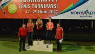 Böcek, 'Tenis Turnuvası' ödüllerini verdi