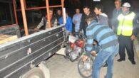 Demre'de motor kazası