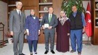 15 Temmuz Şehit ve Gazi Ailelerinden Rektör Ünal'a Ziyaret
