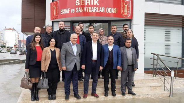 Yeni yönetimden Oda ve kooperatiflere ziyaret