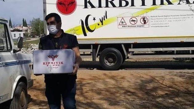 Kırbıyık'tan anlamlı kampanya