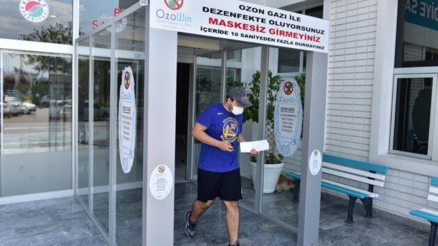 Kepez'den pandemiye karşı güvenli hizmet