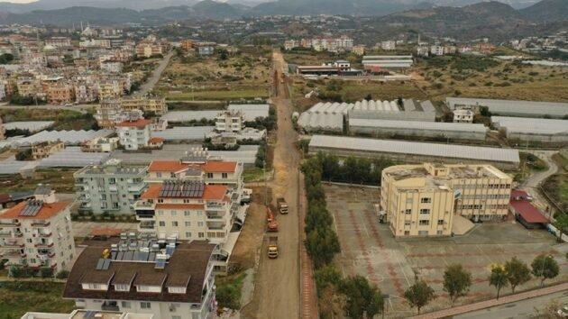 Konaklı'nın çehresi değişiyor