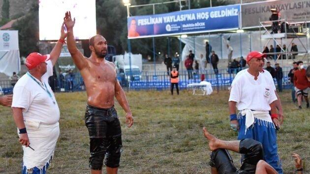 Feslikan'da Şampiyon Ali Gürbüz