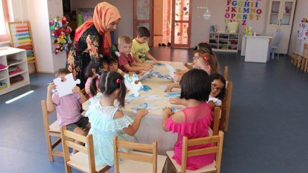Elmalılı çocuklar AKBEM'de buluşuyor