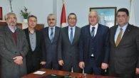 AESOB'dan TRT Antalya Müdürü'ne Ziyaret