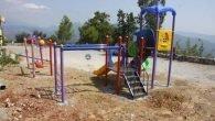 Alanya Belediyesi'nden 4 mahalleye çocuk parkı