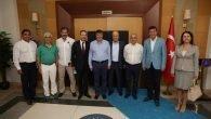 ASBİK'ten ilk ziyaret Türel'e