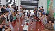 Başkan Genç, Alman öğrencileri ağırladı