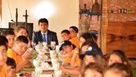 Başkan Gül lösemili çocuklarla bir araya geldi