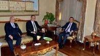 Büyükelçi'den Türker'e ziyaret