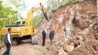 Çıralı'da kazaların yaşandığı yol genişletiliyor