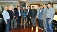 Kazak İşadamlarından Sözen'e ziyaret