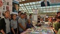 Kitap Fuarı'na öğrencilerden büyük ilgi