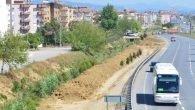 Manavgat Belediyesi'nden Peyzaj Düzenlemesi