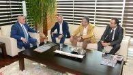 MHP'li adaylar ATSO'yu ziyaret etti