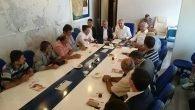 MHP'li adaylar muhtarlar ile buluştu